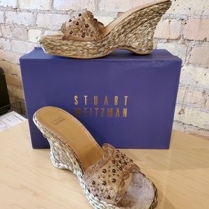 Stuart Weitzman Nairobi Patch Wedge